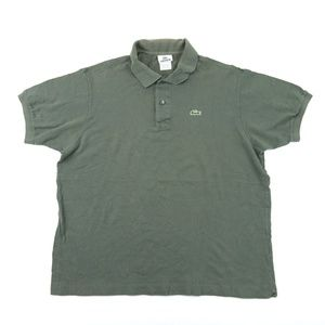 Vintage Lacoste Men Sz 2XL Gray Polo Shirt A1701-1